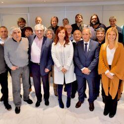 Alberto Fernández y Cristina Kirchner, doble comando.  | Foto:Cedoc