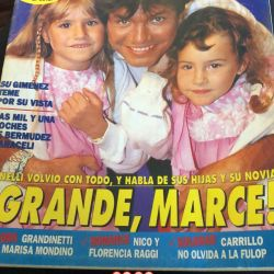 Marcelo Tinelli álbum familiar