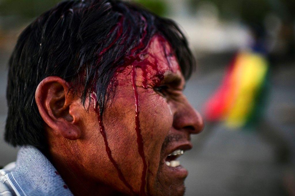 Galería | 50 fotos de la impactante crisis boliviana a un mes de las elecciones