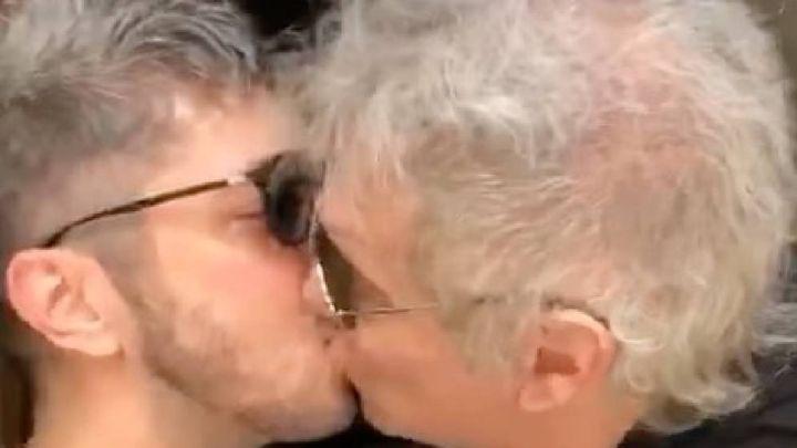 VIDEO | El tremendo beso entre Jey Mammon y Beto Casella