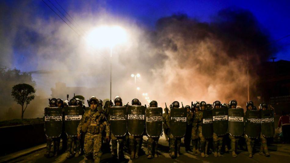 fotos crisis golpe bolivia afp