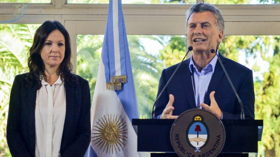 Mauricio Macri Carolina Stanley