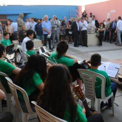 De la presentación participó el grupo musical de la Fundación casa Rafael | Foto:Marcelo Silvestro