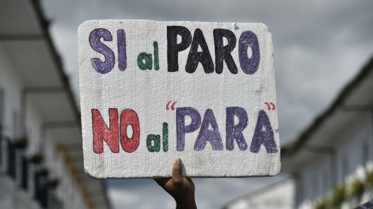 Paro nacional en Colombia: la gente salió a la calle contra las políticas de Duque