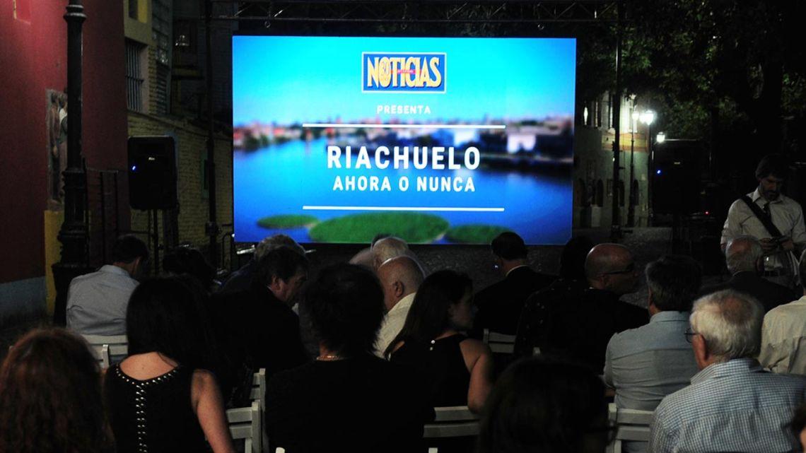 Riachuelo ahora o nunca, el documental de NOTICIAS   Foto:José Tolomei