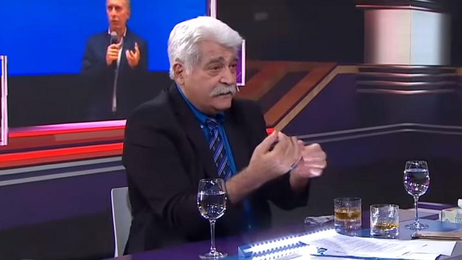 El periodista, escritor y analista político Jorge Asís