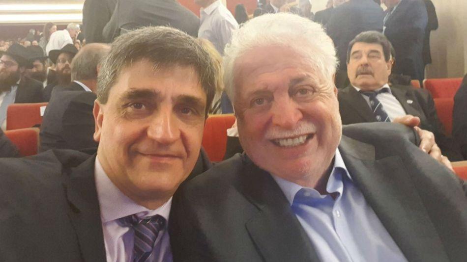 Ginés González García y Pablo Yedlin pertenecen al equipo técnico de salud de Alberto Fernández.