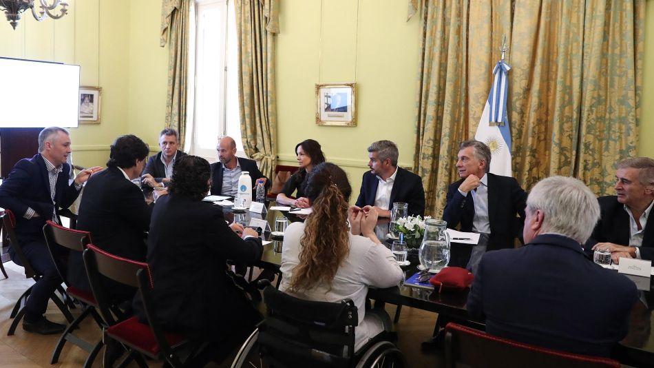 Reunión de Gabinete Macri 20191121