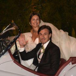 La primera foto de Pampita y Roberto García Moritán como marido y mujer