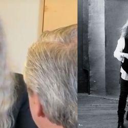 Patti Smith y Alberto Fernández | Foto:Cedoc