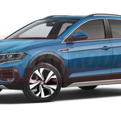 Posible diseño del Volkswagen T-Sport (fuente: Quatro Rodas)