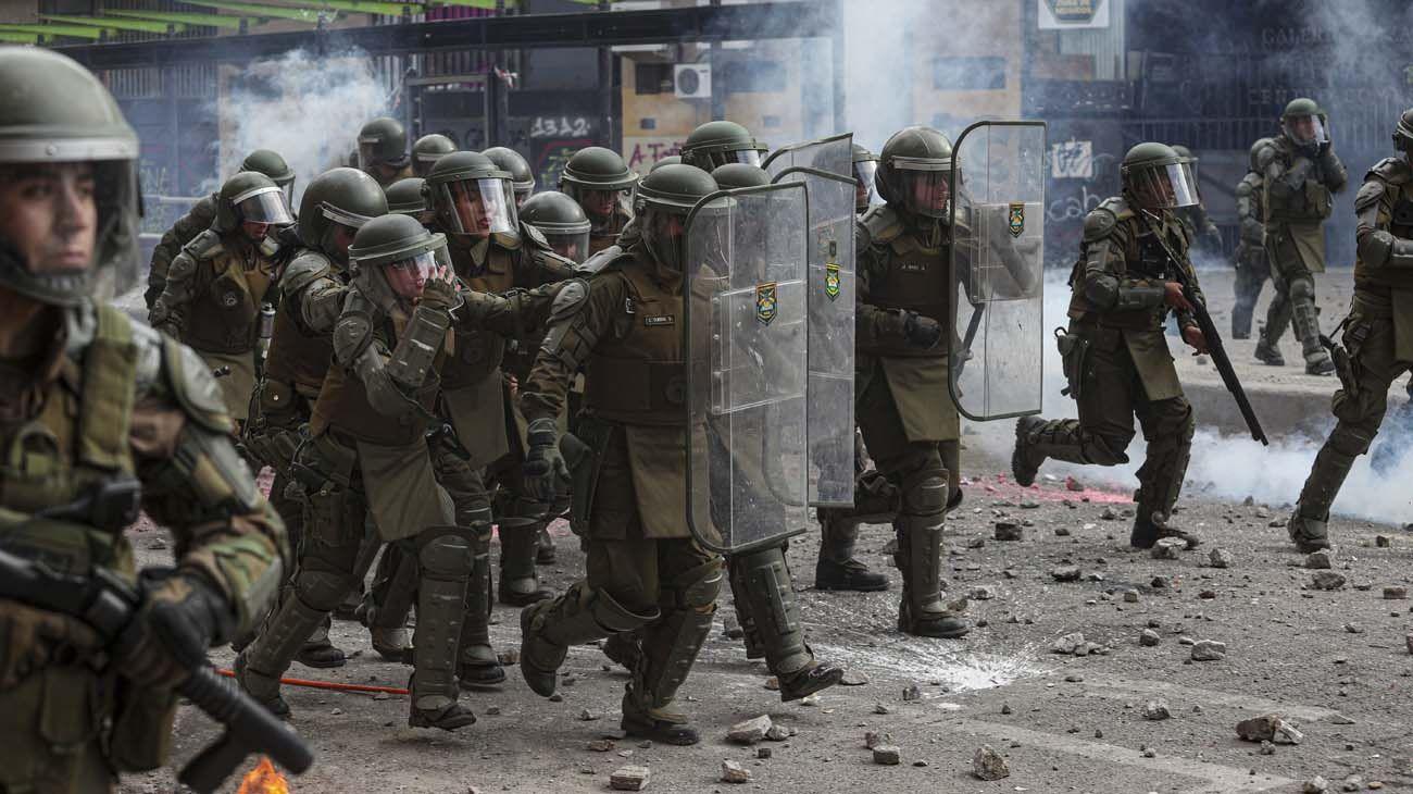 Días pasado y la brutal represión de los Carabineros