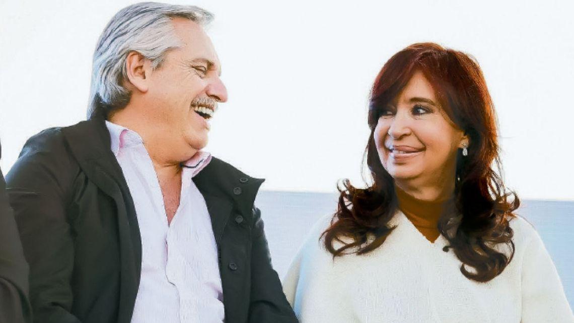 Alberto Fernández y Cristina Kirchner | Foto:Cedoc
