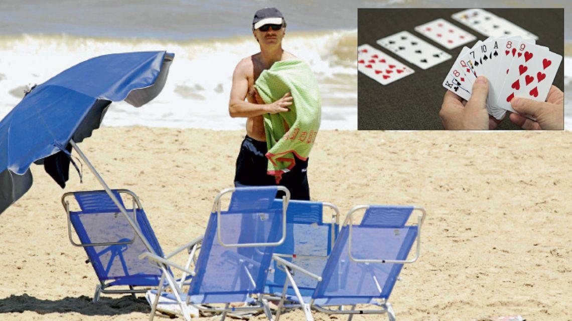 Regreso. Macri volverá a las playas del Este, que evitó durante todo su mandato. También planea participar de torneos internacionales de bridge, su pasión. | Foto:Cedoc