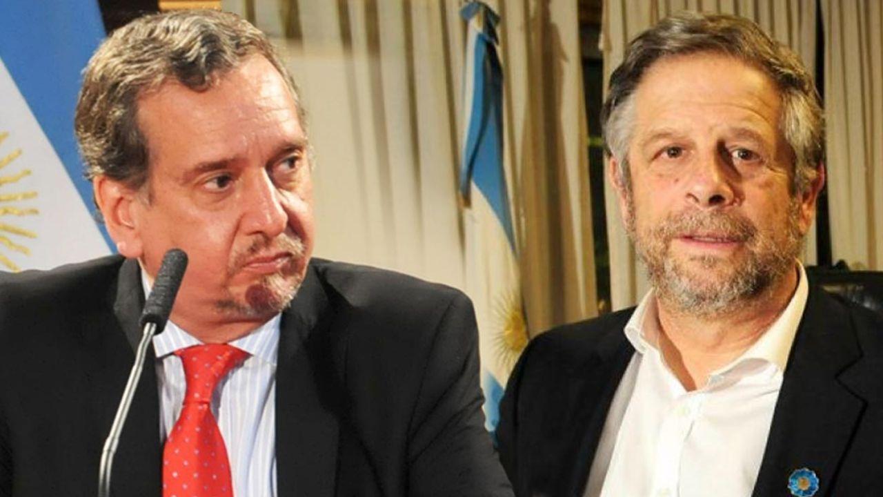 Lino Barañao y Adolfo Rubinstein | Foto:cedoc