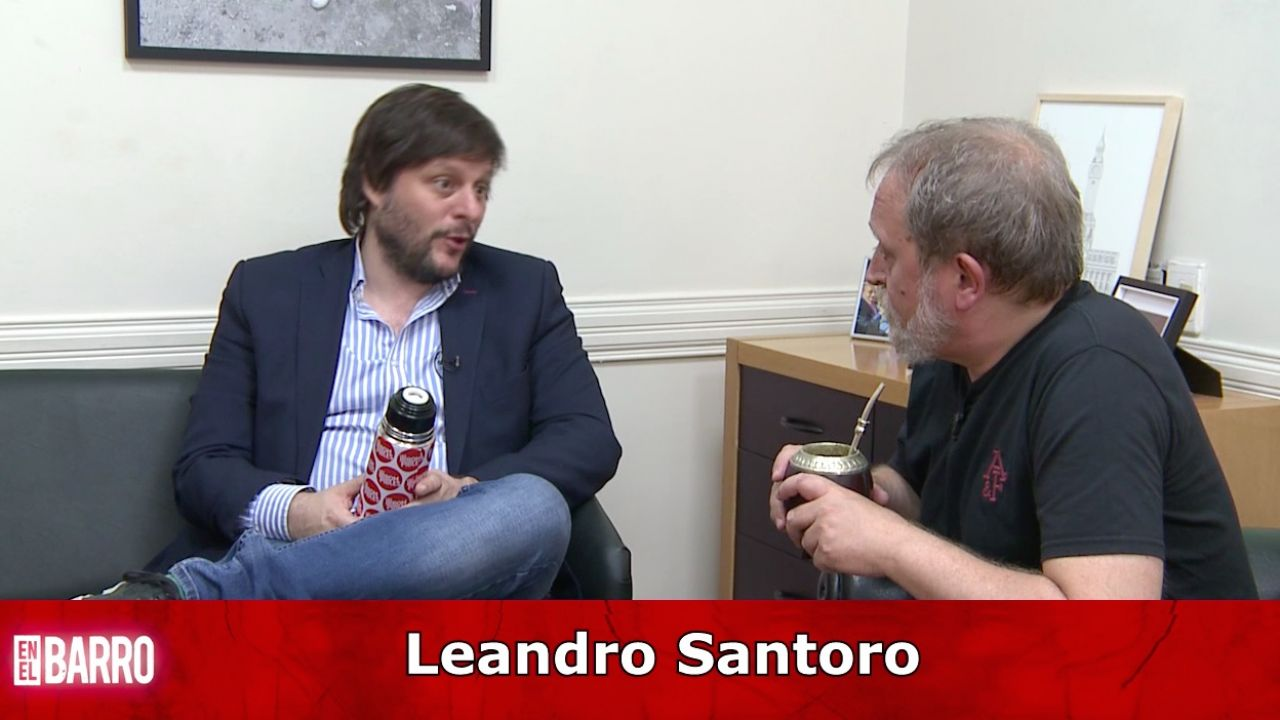 Leandro Santoro | Foto:Cedoc