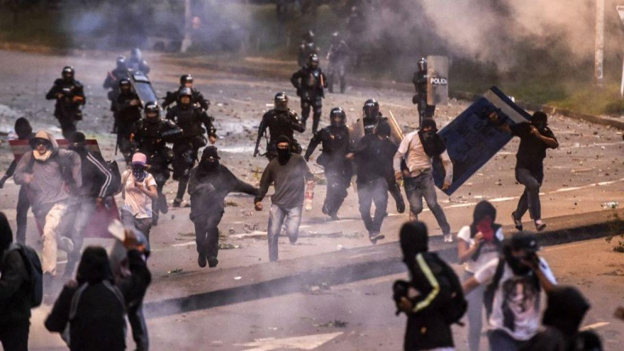 Manifestaciones en Colombia | Foto:cedoc