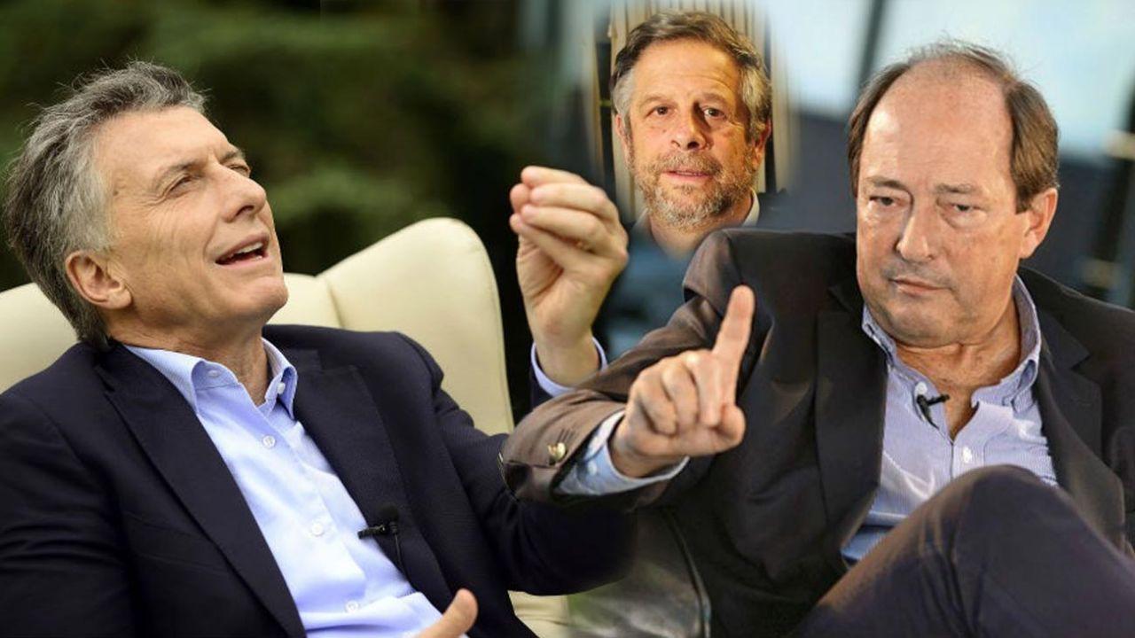 Mauricio Macri, Adolfo Rubinsteiny Ernesto Sanz | Foto:cedoc