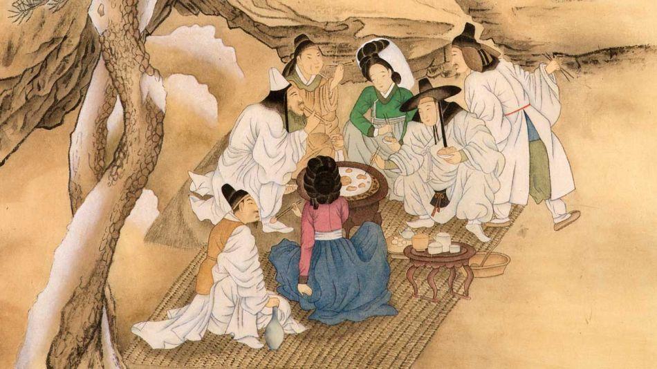 Minhwa, pintura tradicional coreana.