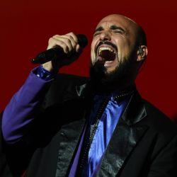 Abel Pintos presentó en el Movistar Arena de Villa Crespo su Universo Paralelo.