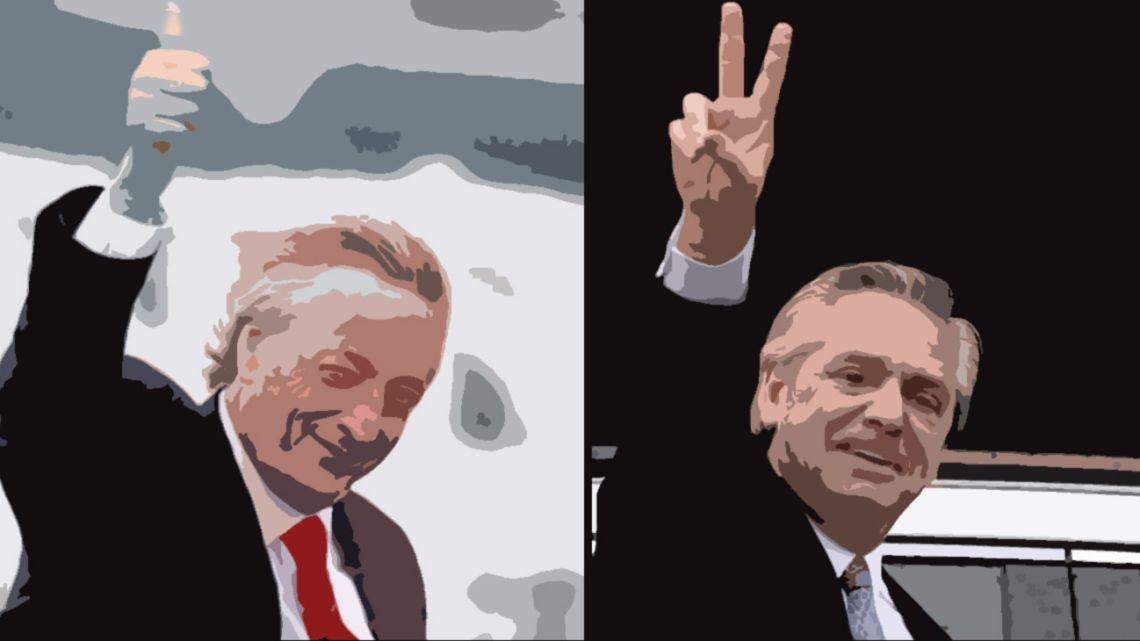 Nestor Kirchner and Alberto Fernandez.