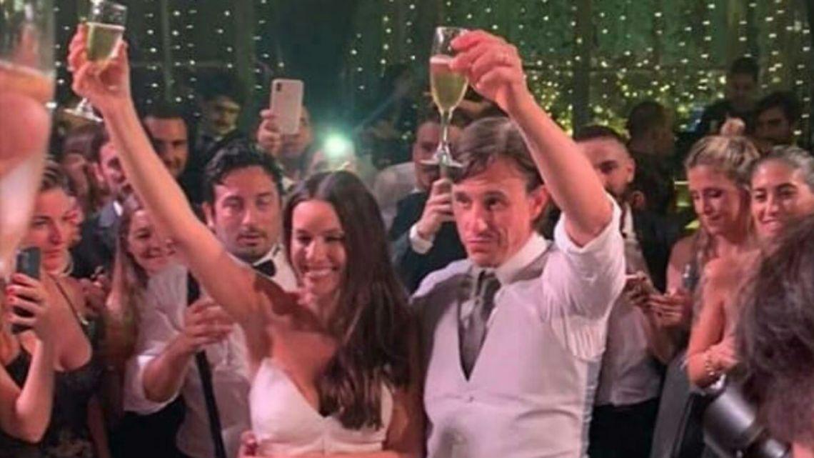 El video oficial de la boda de Pampita y Roberto García Moritán