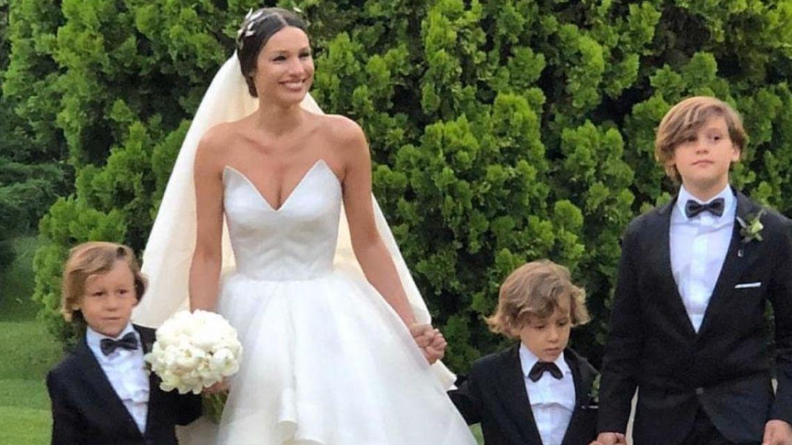 VIDEO | Benicio Vicuña, encargado de llevar los anillos en la boda de Pampita y Roberto