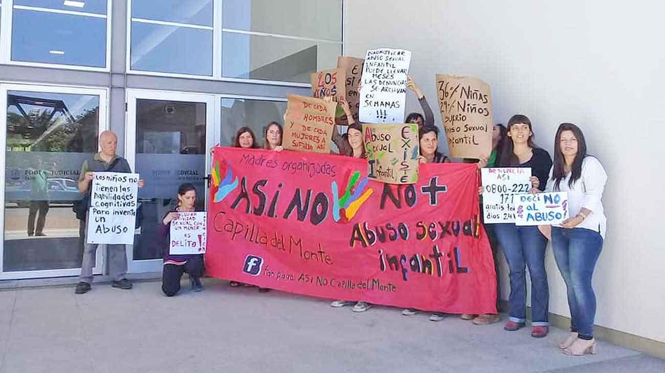 Movilizados. Mañana se realizará una marcha en la que pedirán la absolución de Flavia y el desarchivo de la causa por abuso.