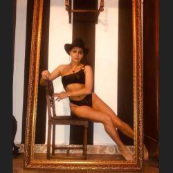 Natalie Pérez, muy sensual