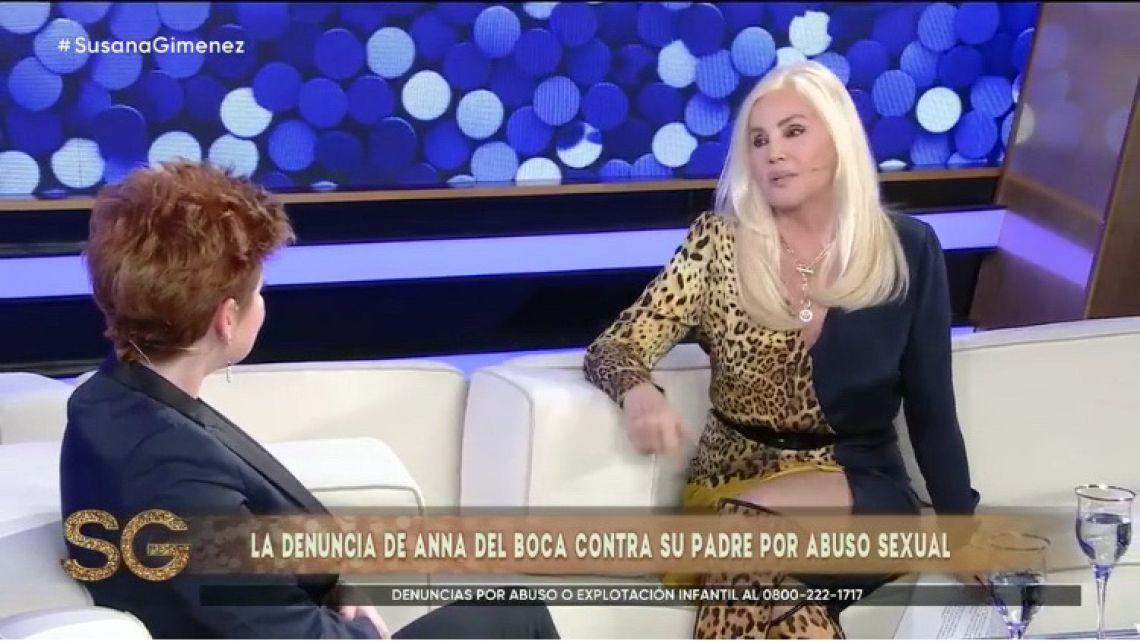 Andrea del Boca con Susana