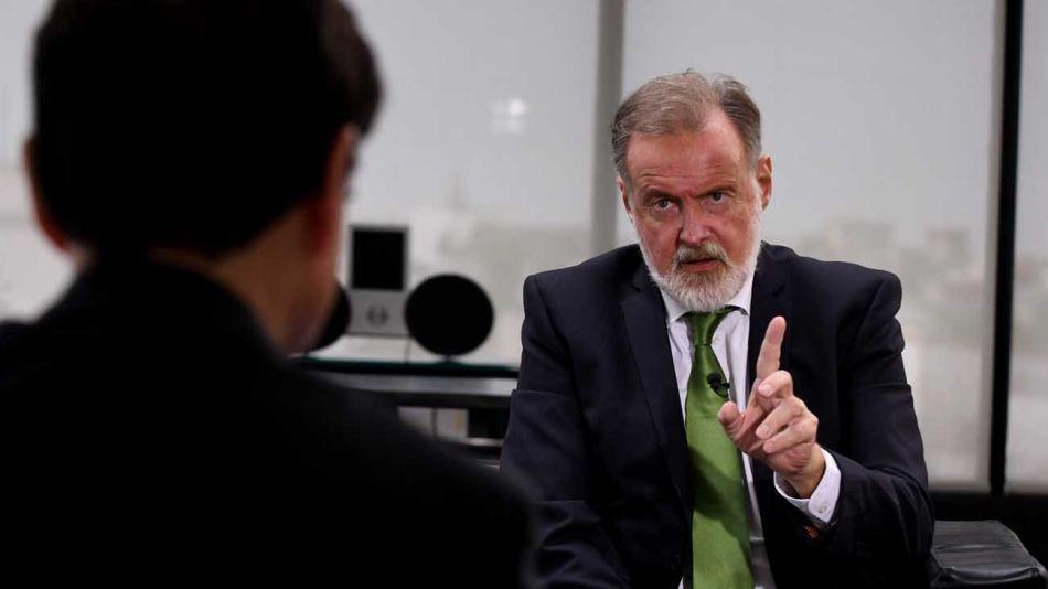 Rafael Bielsa, en la entrevista con Jorge Fontevecchia.
