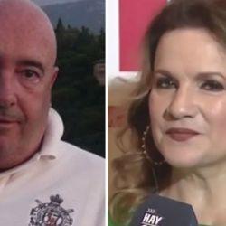 Enrique Torres y Lucía Galán