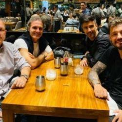 Marcelo Tinelli viajó a Lima por la final de la Copa Libertadores