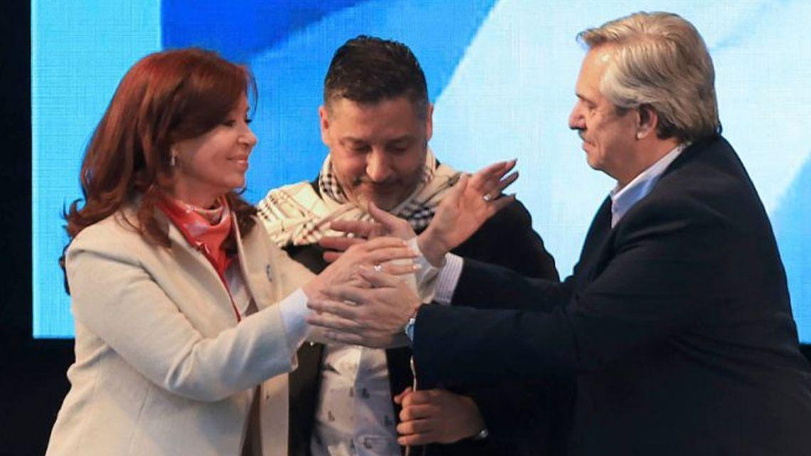 Cristina Kirchner y Alberto Fernández | Foto:Noticias Argentinas