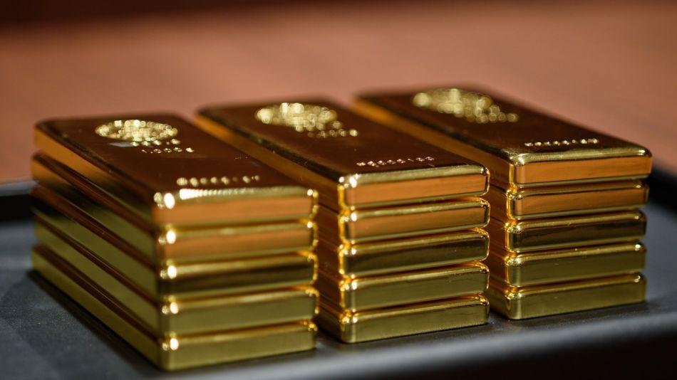 Gold Bars and Coins At A Tanaka Kikinzoku Store