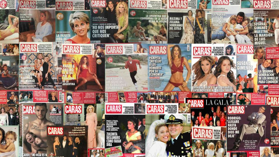 27 tapas historicas en 27 años de CARAS