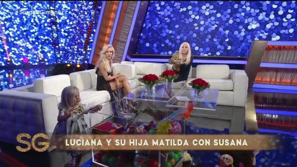 Luli Salazar y Matilda con Susana