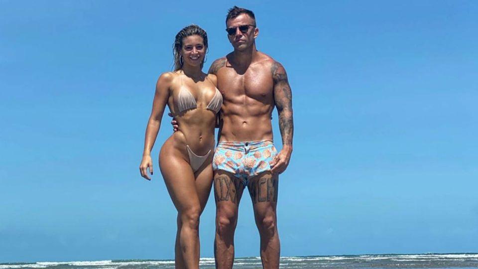Sol Pérez y su novio incendiaron las redes sociales desde las playas de Brasil