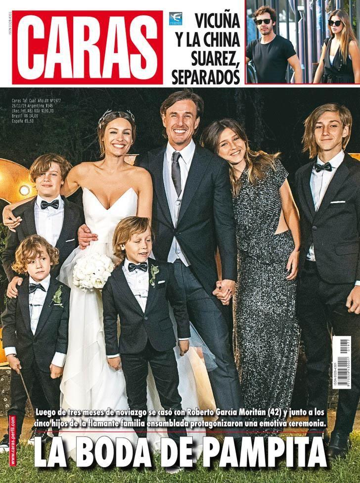 La boda del Año, Pampita y Roberto García Moritan
