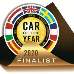 Logo finalistas Car of the Year 2020.