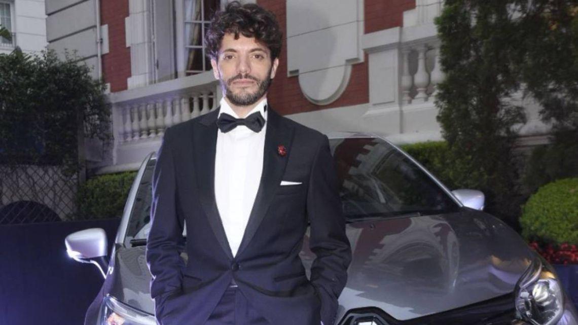 Federico Salles, junto a Renault en la gala de CARAS