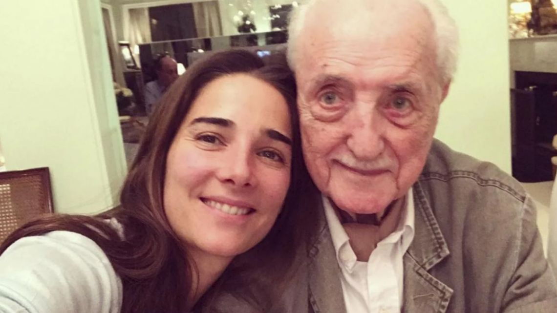 El tenso momento de Juana Viale por la muerte de José Martínez Suárez