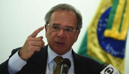 El ministro de Hacienda de Brasil, Paulo Guedes.