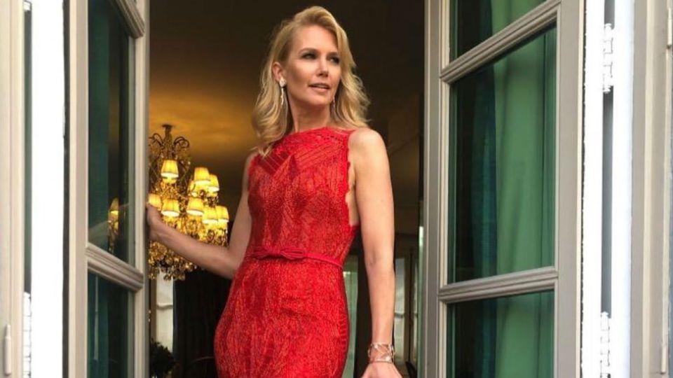 Valeria Mazza en la Gala de Caras 27 años