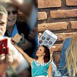 Alfredo Casero, Sofi Morandi y Flor Vigna.  | Foto:Cedoc