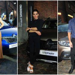 Las celebrities brillaron en el lanzamiento de los nuevos modelos de Renault