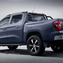 Pick-up Peugeot (fuente: Kolesa)