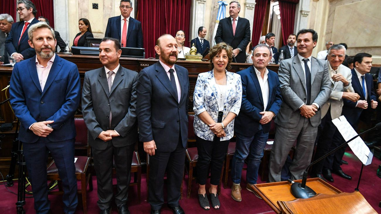 Jura de senadores: los secretarios de Cristina Kirchner y el adiós de Pichetto