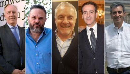 Guillermo Nielsen, Matías Kulfas, Raúl Pérez, Guillermo López del Punta y Florencio Randazzo.