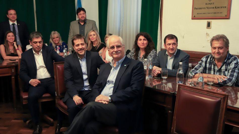 senadores peronistas 11272019